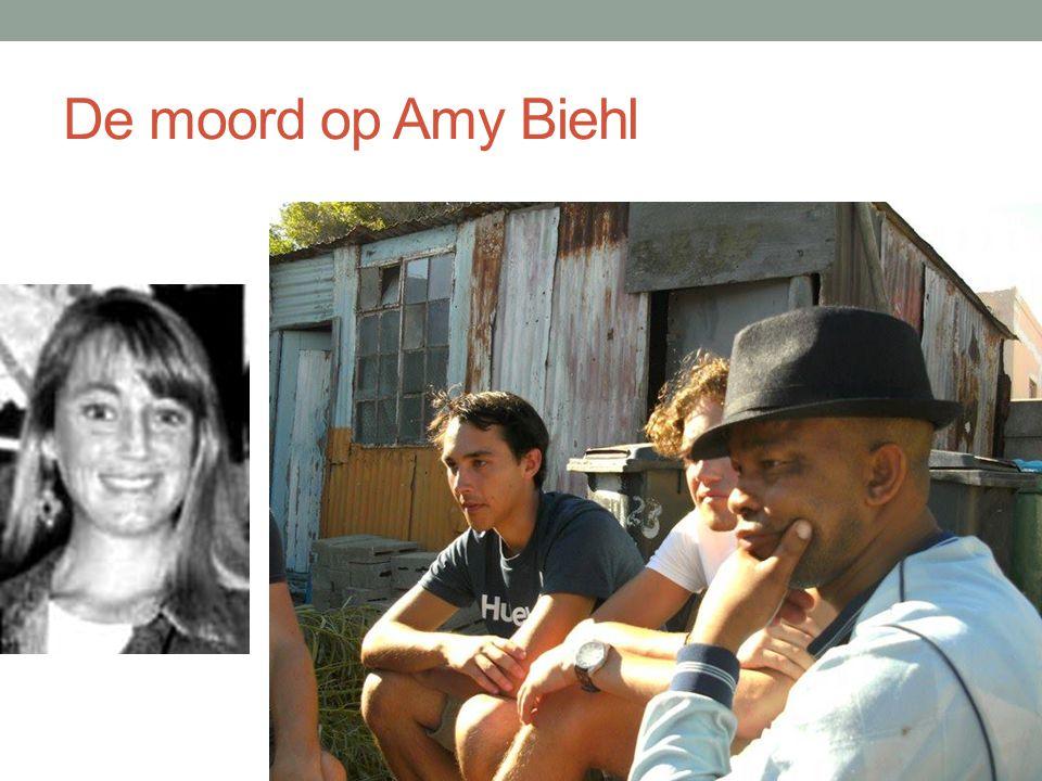 De moord op Amy Biehl