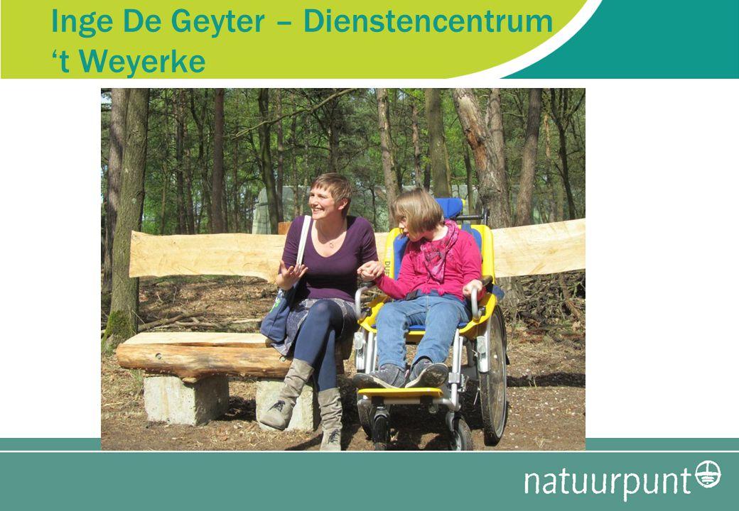 Inge De Geyter – Dienstencentrum 't Weyerke