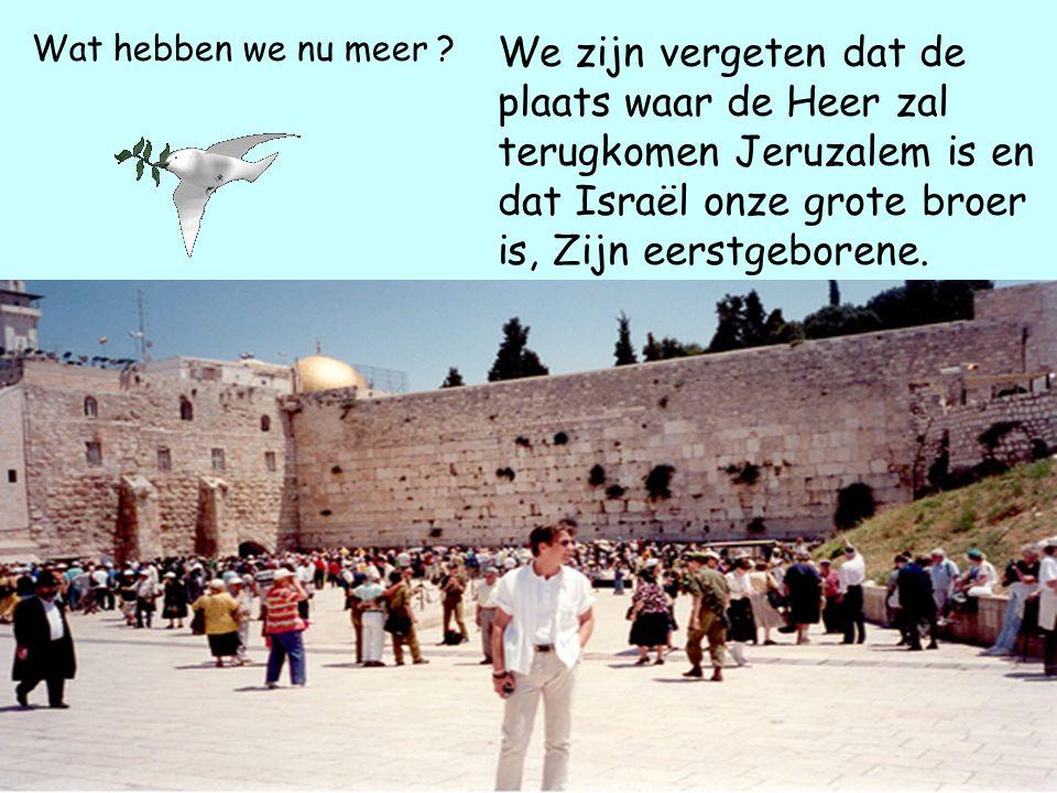 Wat hebben we nu meer Al het goede is voor ons Christenen En al het slechte voor hun Joden