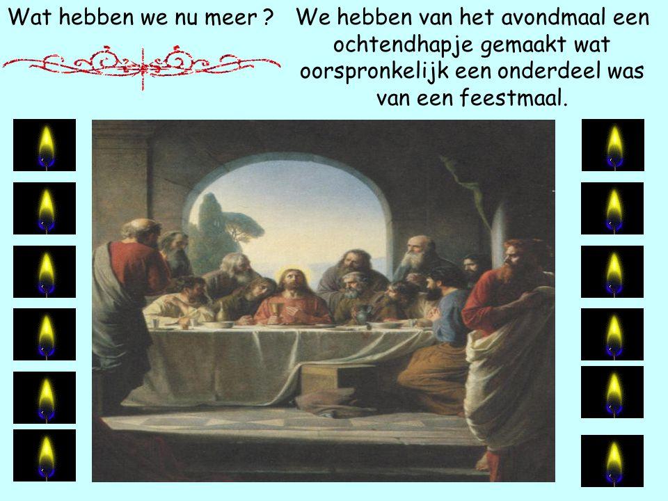 Wat hebben we nu meer ? We hebben als christenen de laatste tweeduizend jaar alle voedselwetten overtreden die God ons gegeven heeft ten goede voor on