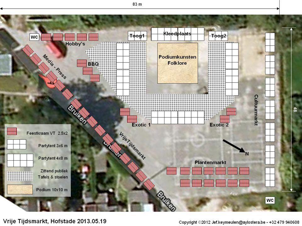 VrijeTijdsMarkt / JKAlgemene Vergadering RVT 2012.01.277 - 12 Planning Bestuur Raad voor Vrije Tijd is de stuurgroep Eerste event : Hofstade, zondag..