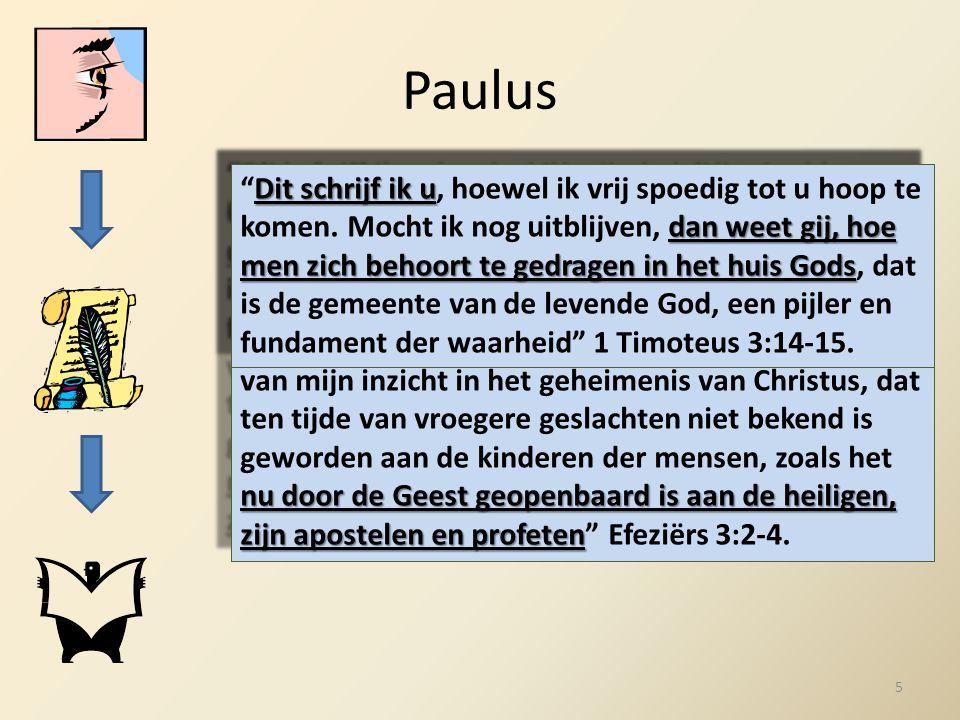 Paulus gelijk ik boven in het kort daarvan schreef bij het lezen u een begrip vormen nu door de Geest geopenbaard is aan de heiligen, zijn apostelen e