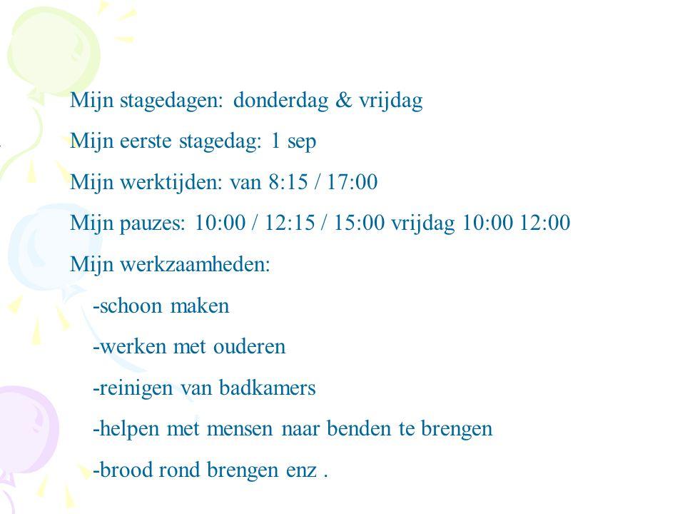 Woonzorgcentrum antoniushof Adres: vredesplein 100 Plaats: waalwijk **Wat voor bedrijf is het .
