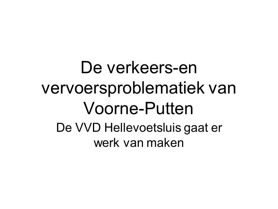 De verkeers-en vervoersproblematiek van Voorne-Putten De VVD Hellevoetsluis gaat er werk van maken