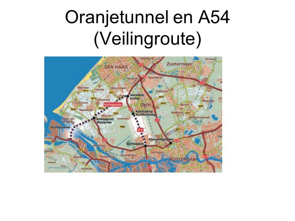 Oranjetunnel en A54 (Veilingroute)