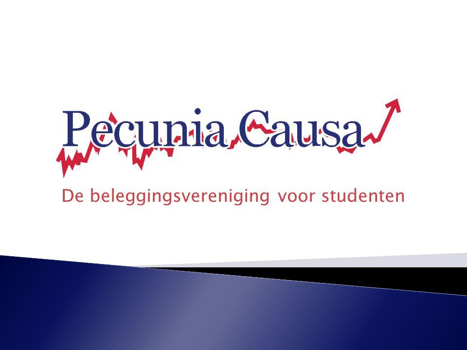 - Vandaag: voorlichtingsbijeenkomst - Wat is Pecunia Causa.