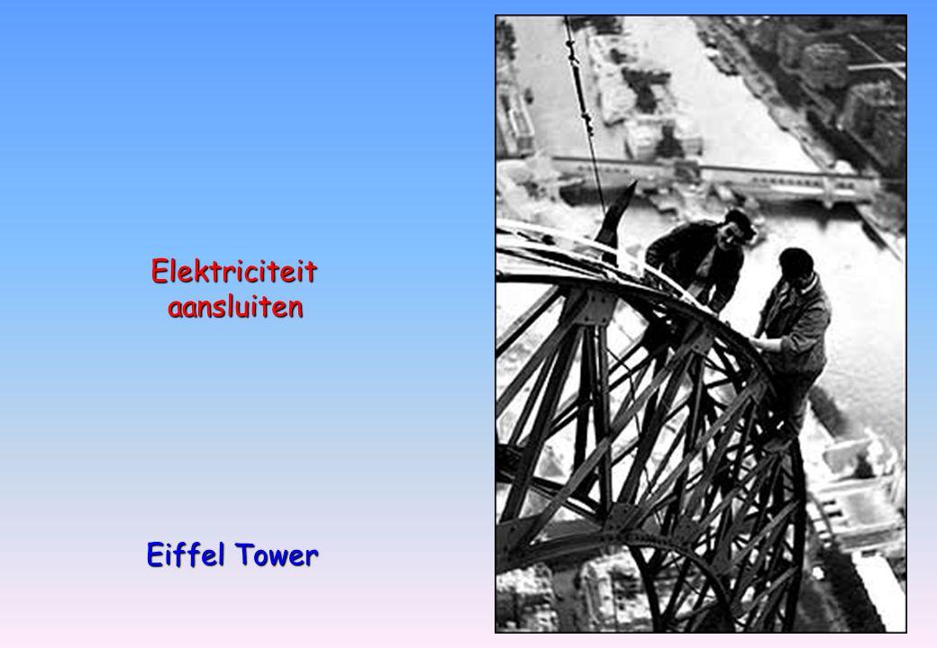 Elektriciteit aansluiten aansluiten Eiffel Tower