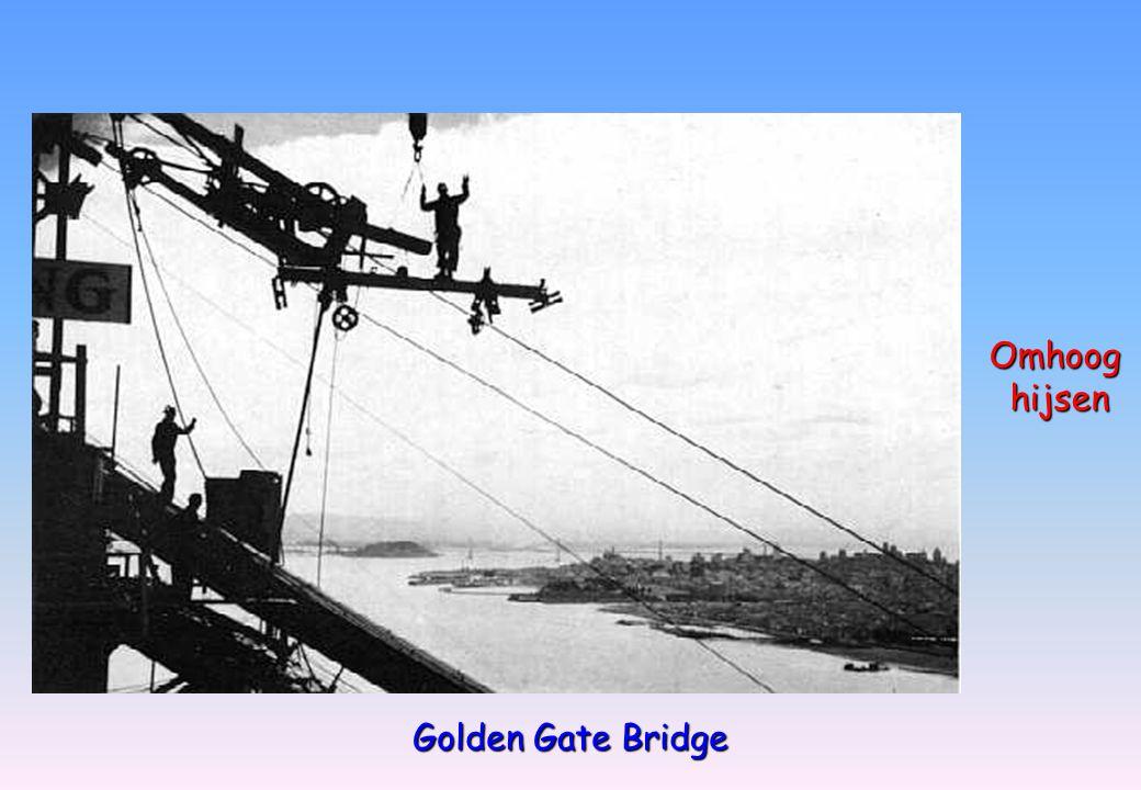 Golden Gate Bridge Omhoog hijsen hijsen