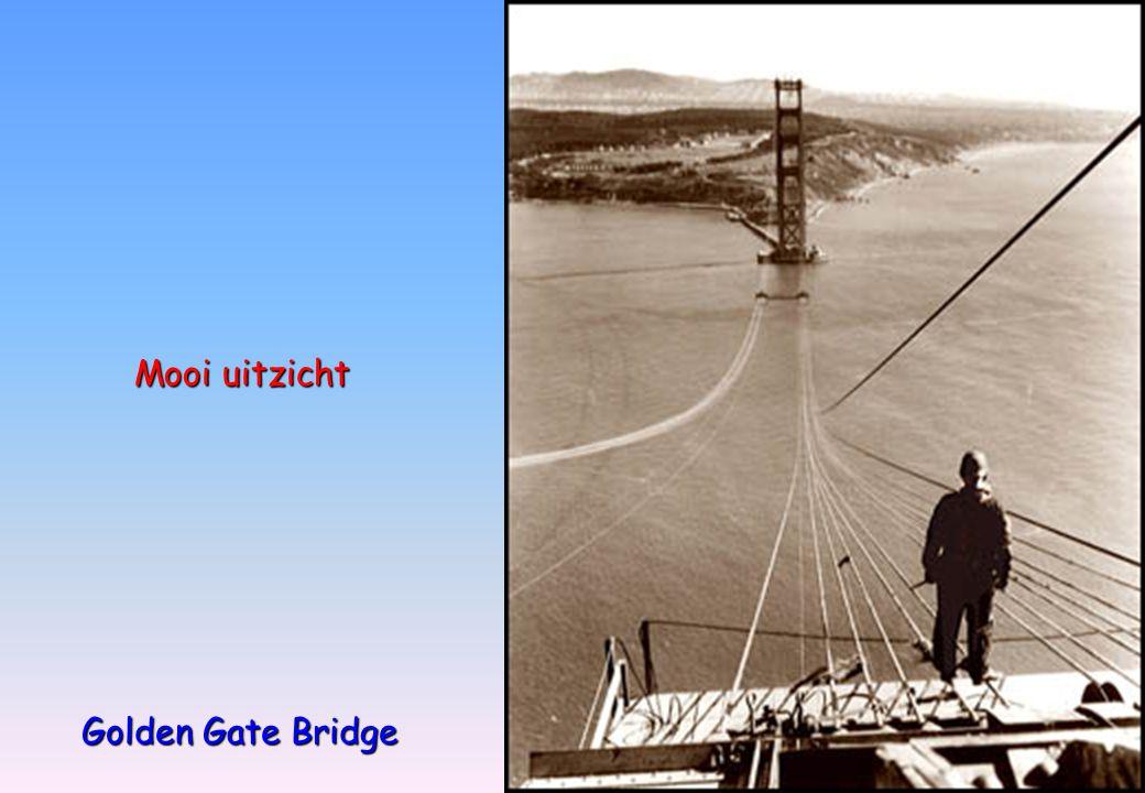 Golden Gate Bridge Mooi uitzicht