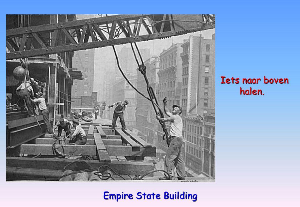 Empire State Building Iets naar boven halen. halen.