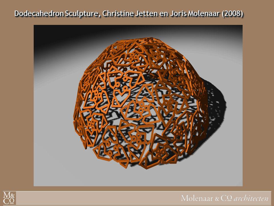 Dodecahedron Sculpture, Christine Jetten en Joris Molenaar (2008)