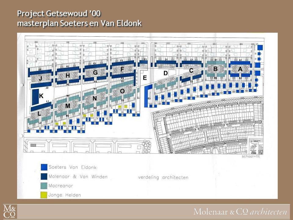 Project Getsewoud '00 masterplan Soeters en Van Eldonk
