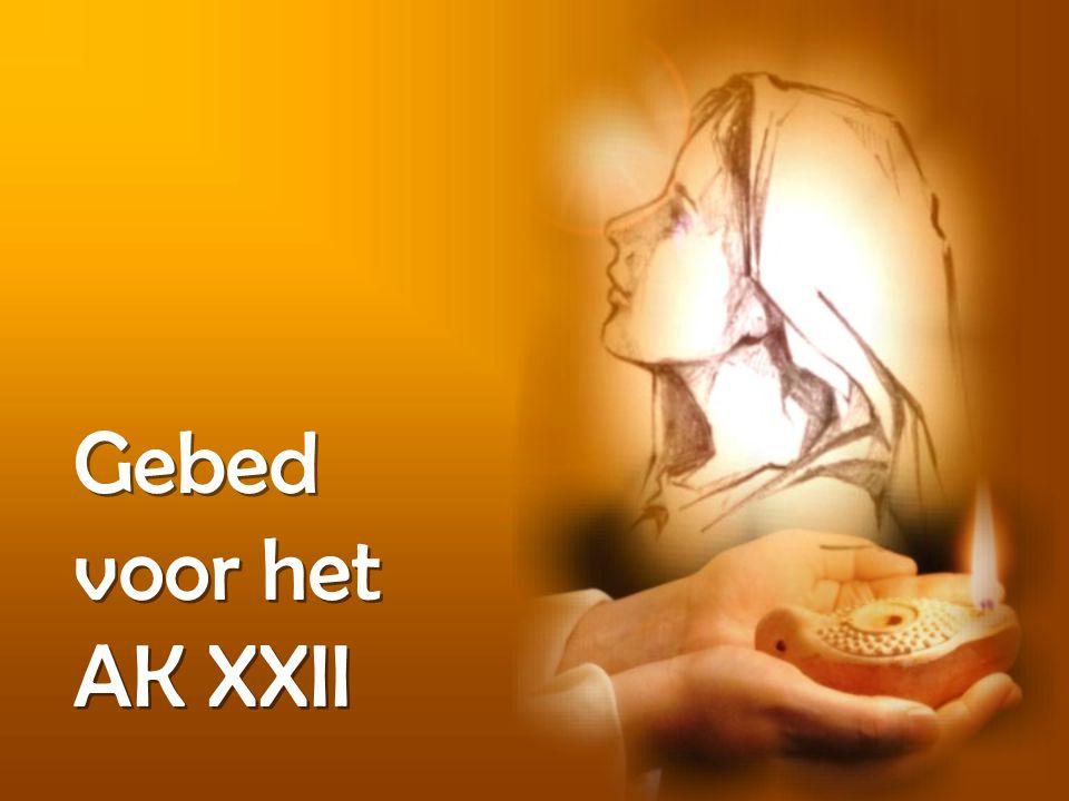 Gebed voor het AK XXII