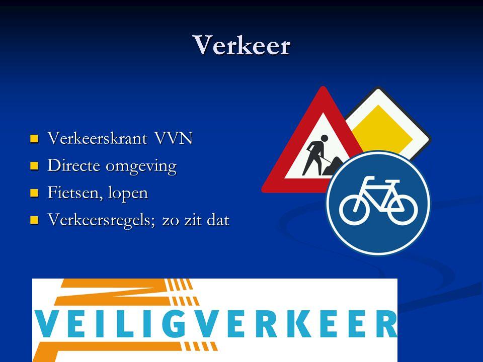 Verkeer Verkeerskrant VVN Verkeerskrant VVN Directe omgeving Directe omgeving Fietsen, lopen Fietsen, lopen Verkeersregels; zo zit dat Verkeersregels;