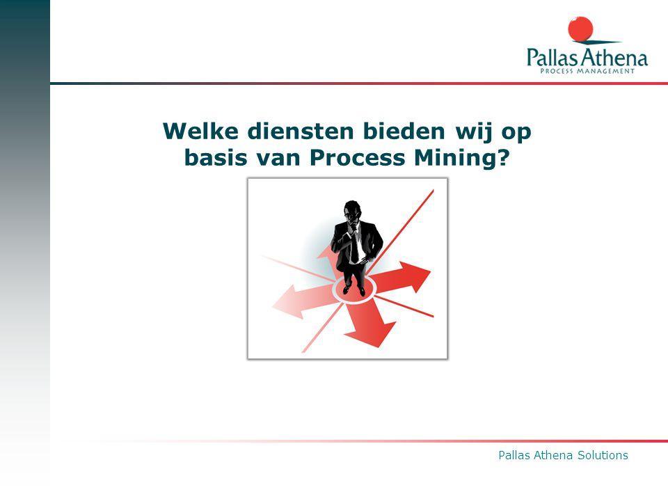 Pallas Athena Solutions Welke diensten bieden wij op basis van Process Mining?