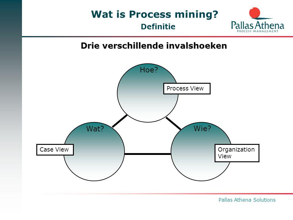 Pallas Athena Solutions Roadmap Extra miningsfunctionaliteit in BPM One  Integratie in BPM | One Portal  Generieke CSV Importer: – Verbeterde flexibiliteit: column headers, delimiter character, quotation marks, encoding,...