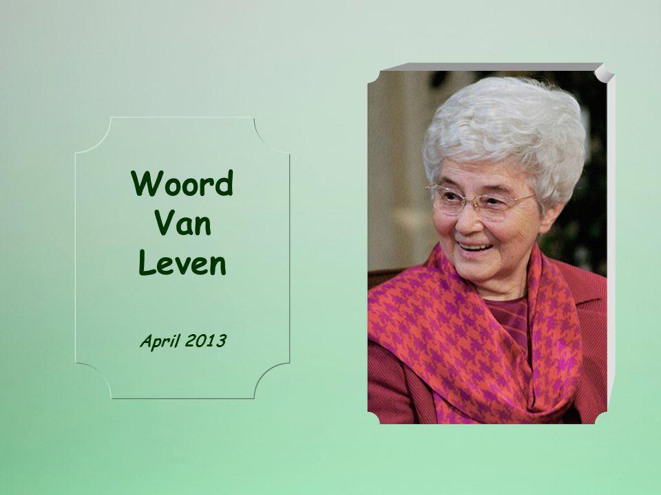 Woord Van Leven April 2013