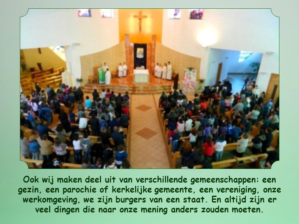 Wat kunnen we met het Woord van leven van deze maand concreet doen? Het plaatst ons voor een moeilijk aspect van het christelijk leven.