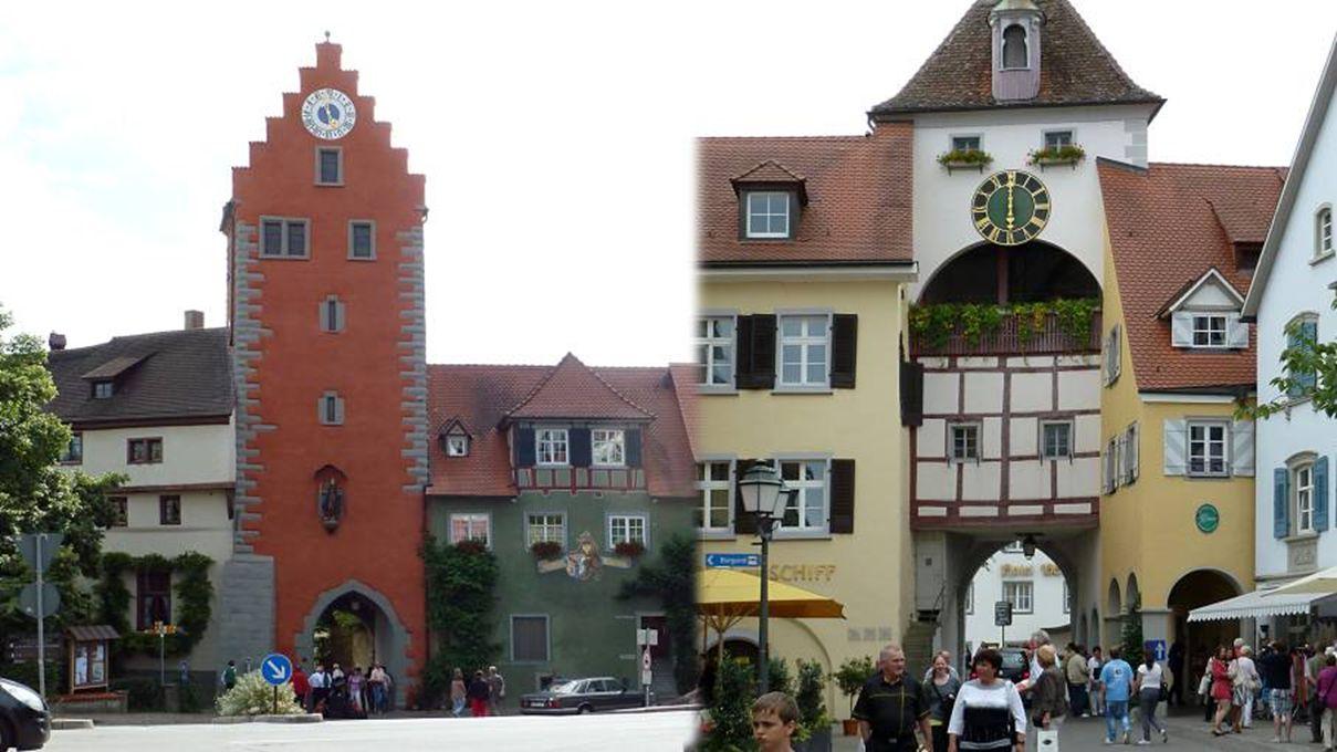 schilderachtige straatjes voeren ons naar bezienswaardige gebouwen