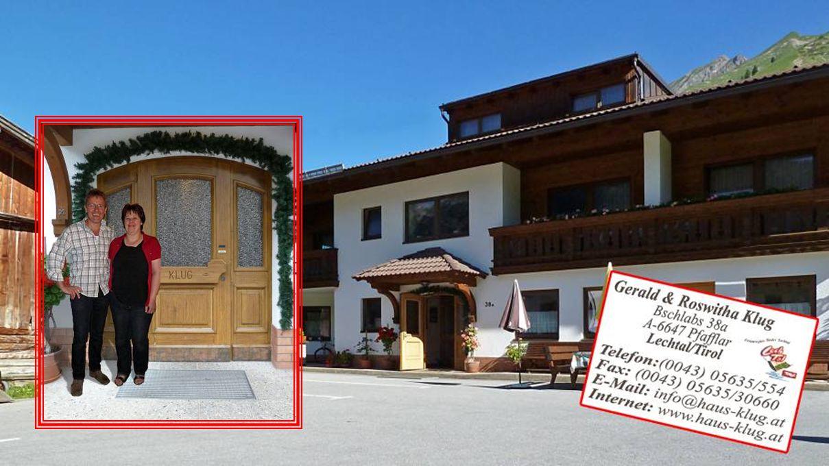 van 26 juni tot en met 4 juli verblijven we in Gästehaus Klug te Bschlabs