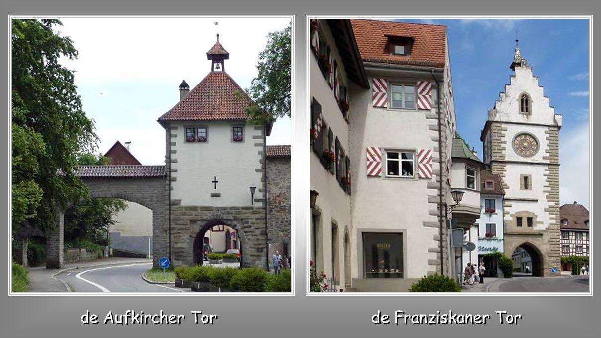 Uberlingen: schilderachtig en toeristisch stadje aan de Bodensee