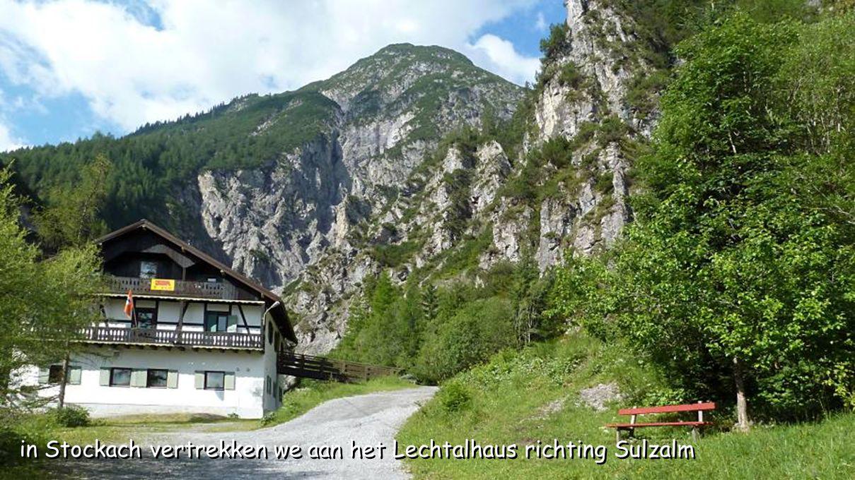 ten zuiden van Reutte liggen de ruïnes Burgenwelt Ehrenberg