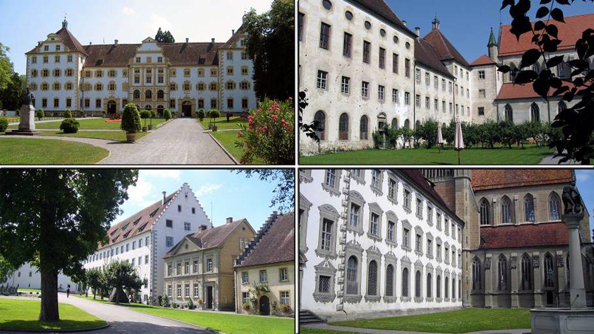 tenslotte brengen we nog een bezoek aan het Schloss Salem, nu een internaat