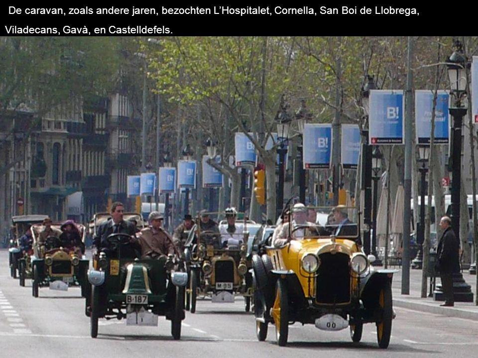 De caravan, zoals andere jaren, bezochten L'Hospitalet, Cornella, San Boi de Llobrega, Viladecans, Gavà, en Castelldefels.
