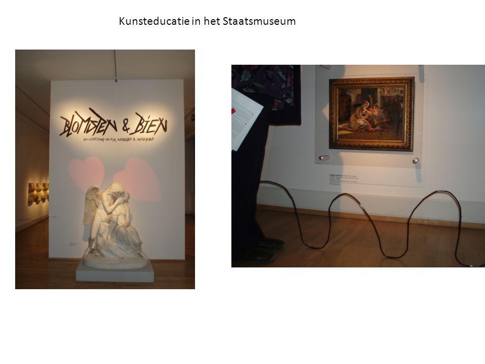 Kunsteducatie in het Staatsmuseum