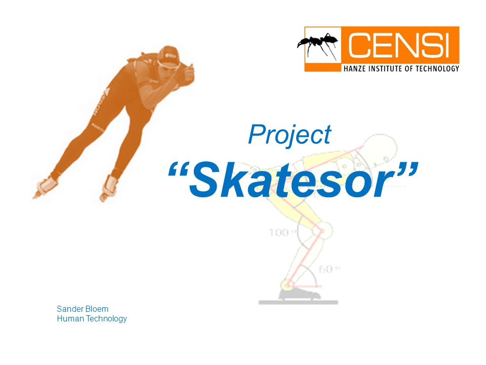 "Sander Bloem Human Technology Project ""Skatesor"""