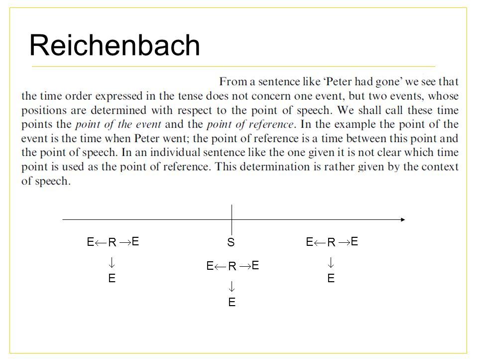 Reichenbach S R EE EE EE R EE EE EE R EE EE EE