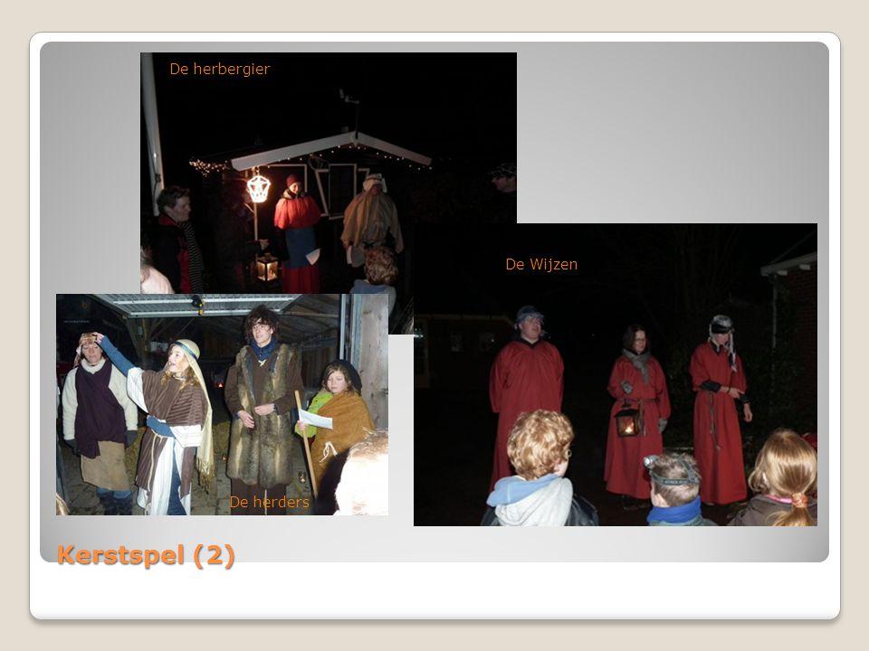 Kerstspel (3) Bij Jozef en Maria in de stal