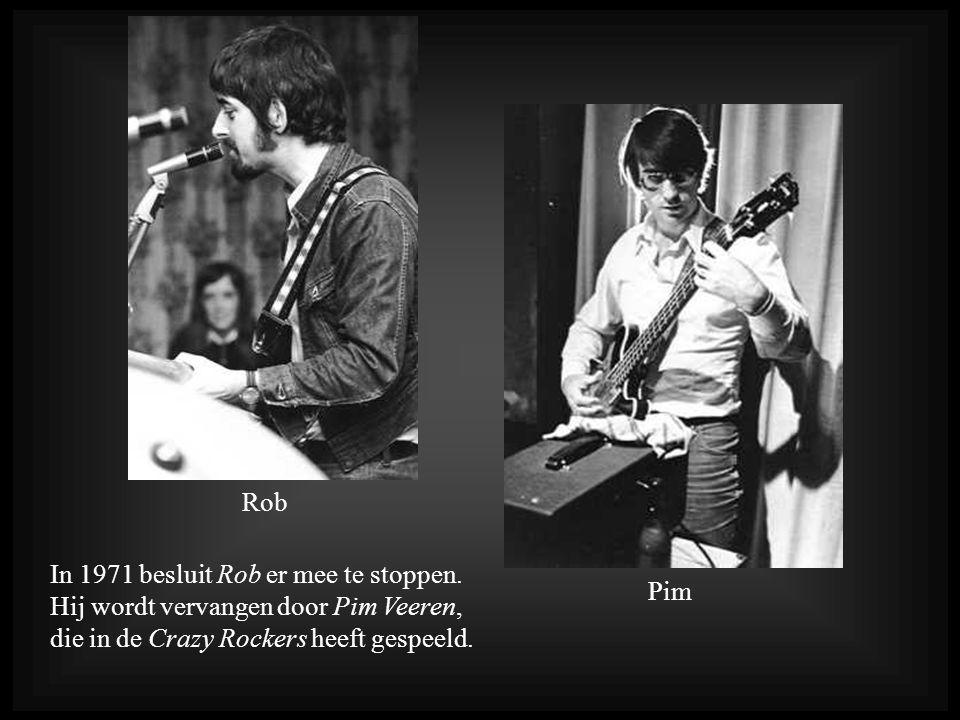 In 1971 besluit Rob er mee te stoppen.