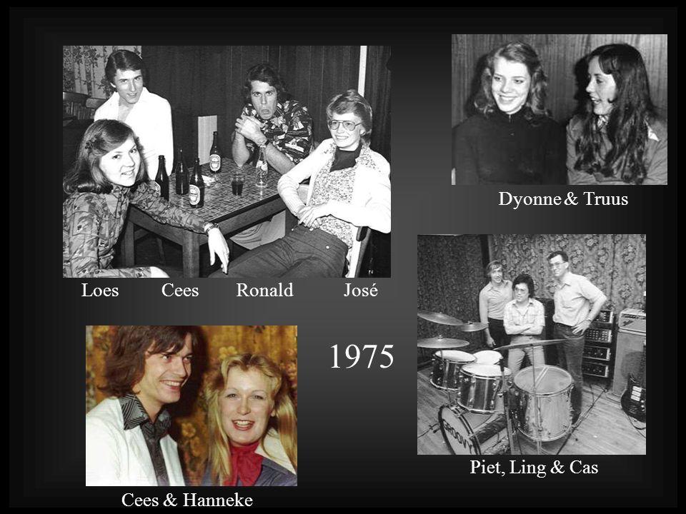 Loes Cees Ronald José 1975 Dyonne & Truus Cees & Hanneke Piet, Ling & Cas