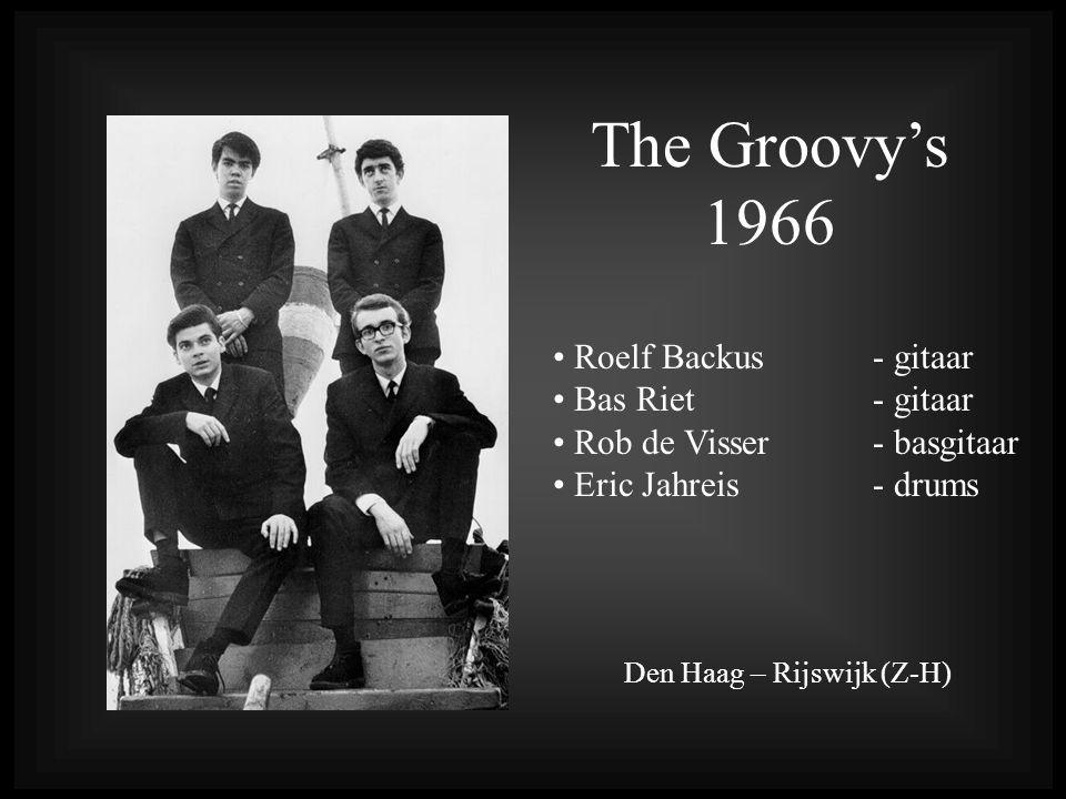 The Groovy's 1966 Roelf Backus- gitaar Bas Riet - gitaar Rob de Visser - basgitaar Eric Jahreis - drums Den Haag – Rijswijk (Z-H)