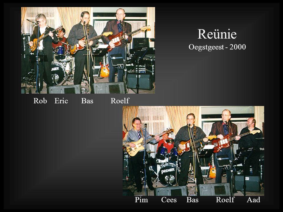Rob Eric Bas Roelf Pim Cees Bas Roelf Aad Reünie Oegstgeest - 2000