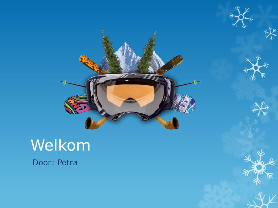Welkom Door: Petra