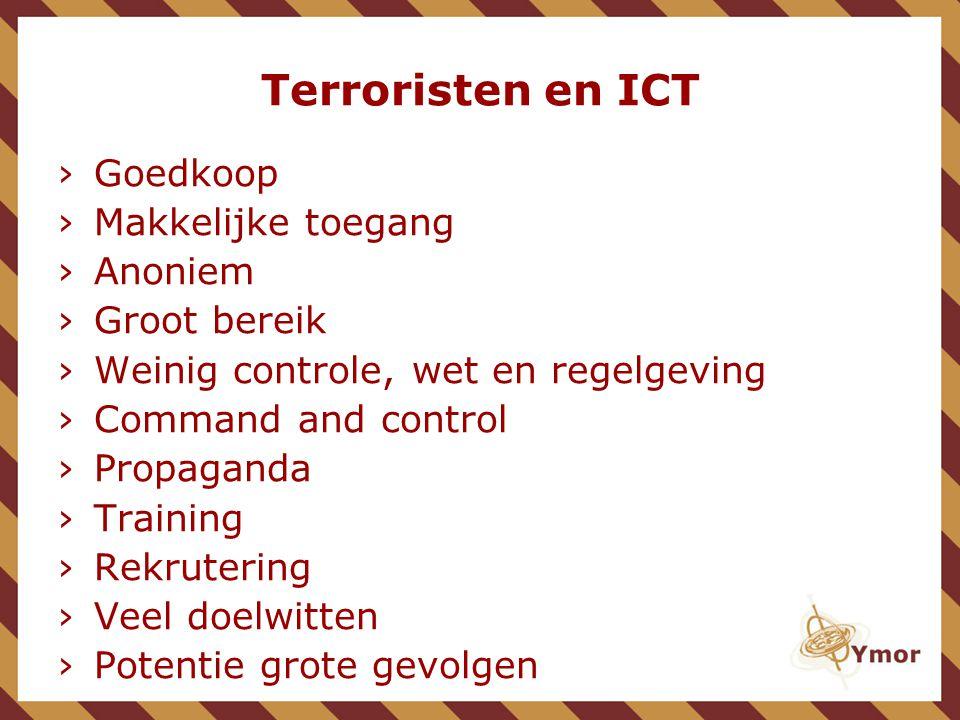 Dreiging Onderscheid tussen:  Hacktivisme  Cyber terrorisme  IT 'terreur' ; intern afschuiven van verantwoordelijkheden
