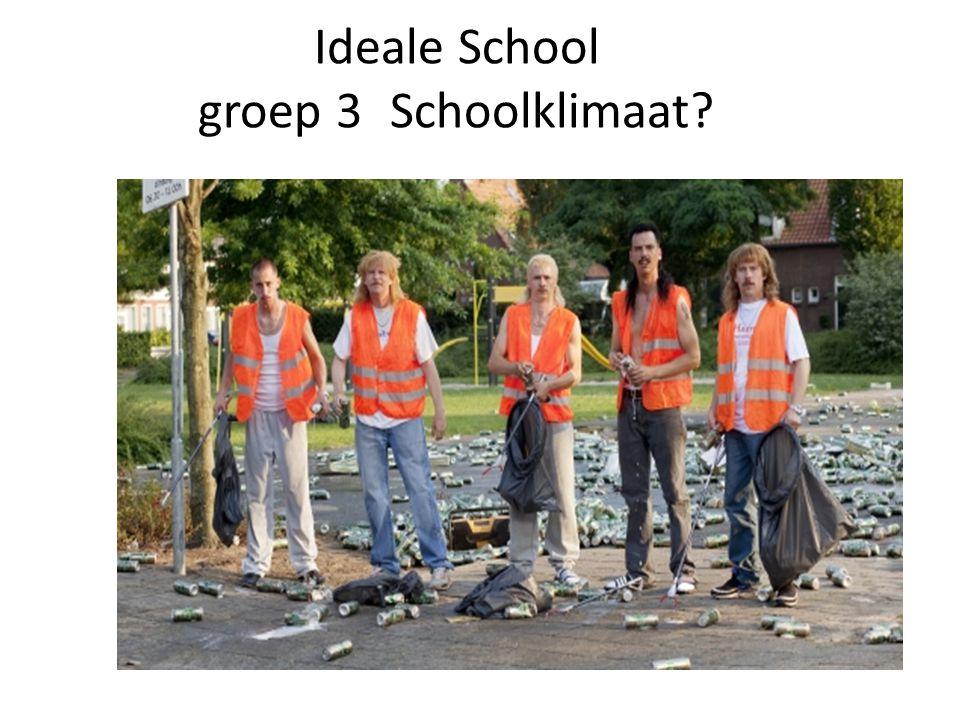 Ideale School groep 3Schoolklimaat? Schoolklimaat