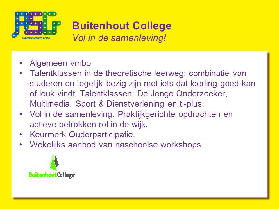 Buitenhout College Vol in de samenleving.