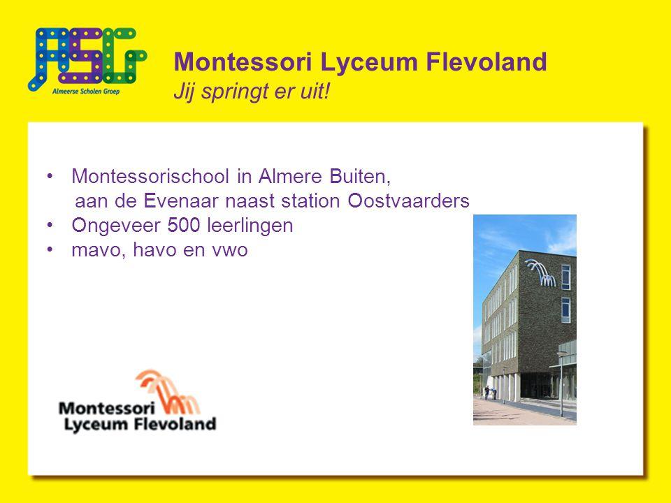 Montessori Lyceum Flevoland Jij springt er uit.