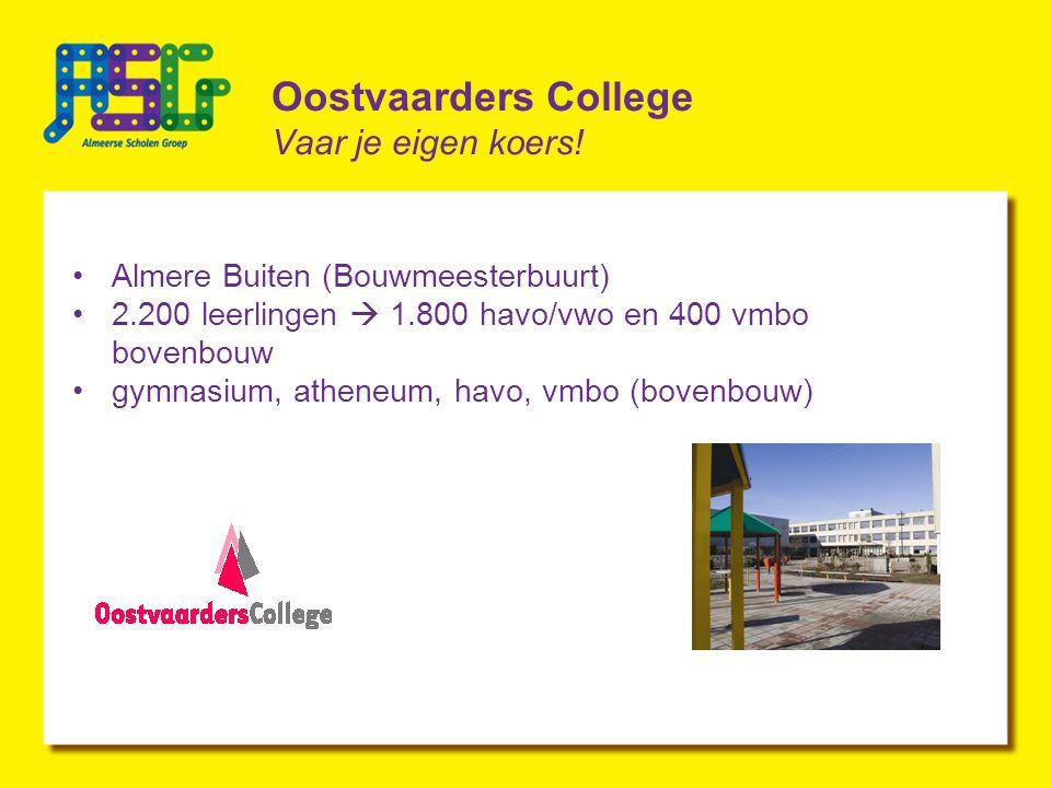 Oostvaarders College Vaar je eigen koers.