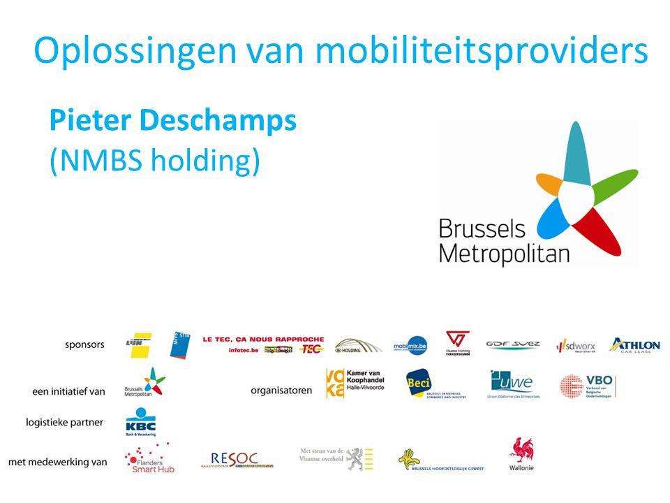 Oplossingen van mobiliteitsproviders Pieter Deschamps (NMBS holding)