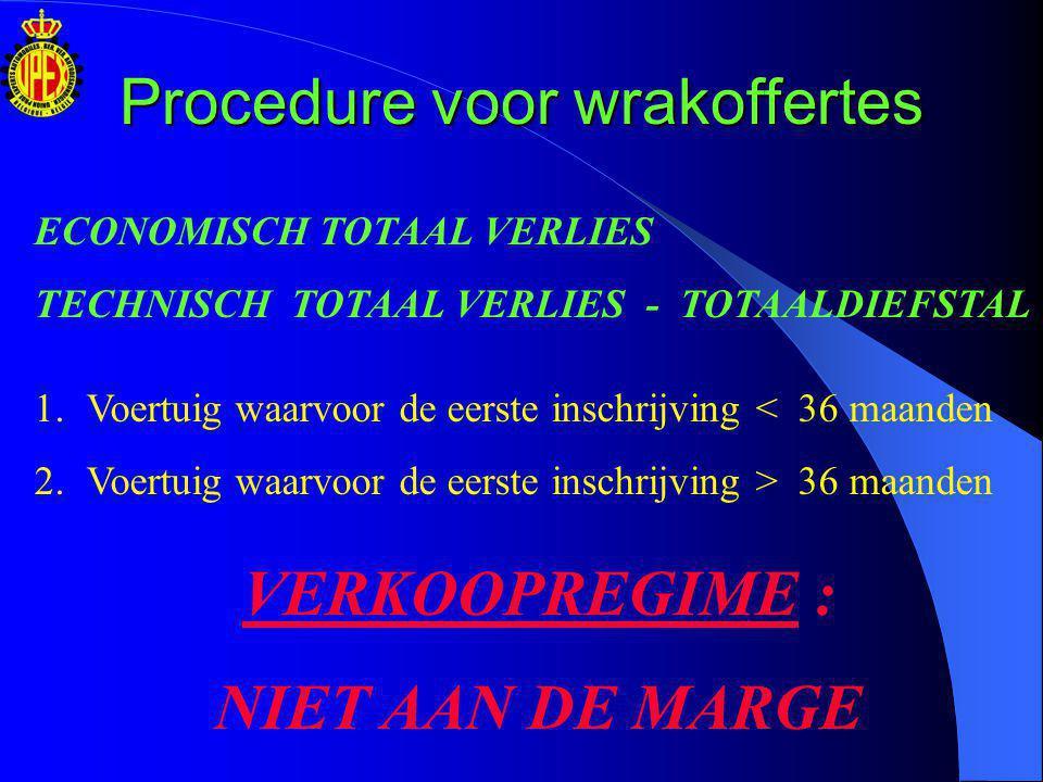 Procedure voor de regularisatie van de BTW Moet worden aangevraagd door de eigenaar van het voertuig alle documenten van het voertuig (indien ze niet werden vernietigd bij de volledige vernietiging van het voertuig) een kopie van de documenten die werden opgesteld om de vernietiging OF de diefstal van het voertuig vast te leggen Bij de Administratie van de ondernemings- en inkomensfiscaliteit (AOIF) Op basis van een geschreven dossier dat uit de volgende elementen bestaat: