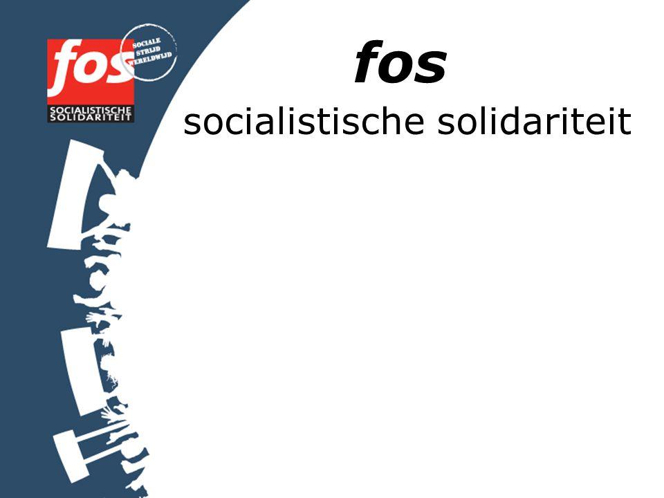 fos socialistische solidariteit
