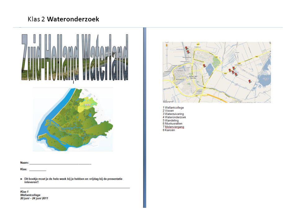 Klas 2 Wateronderzoek