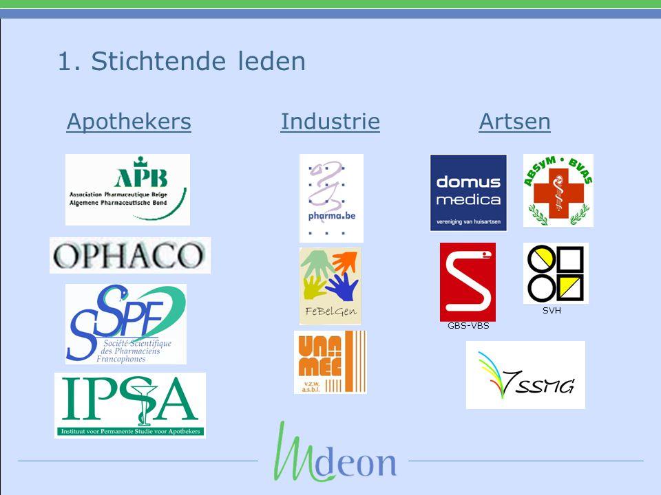 1. Stichtende leden SVH GBS-VBS Apothekers Industrie Artsen