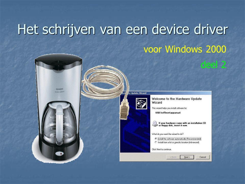 Het schrijven van een device driver voor Windows 2000 deel 2