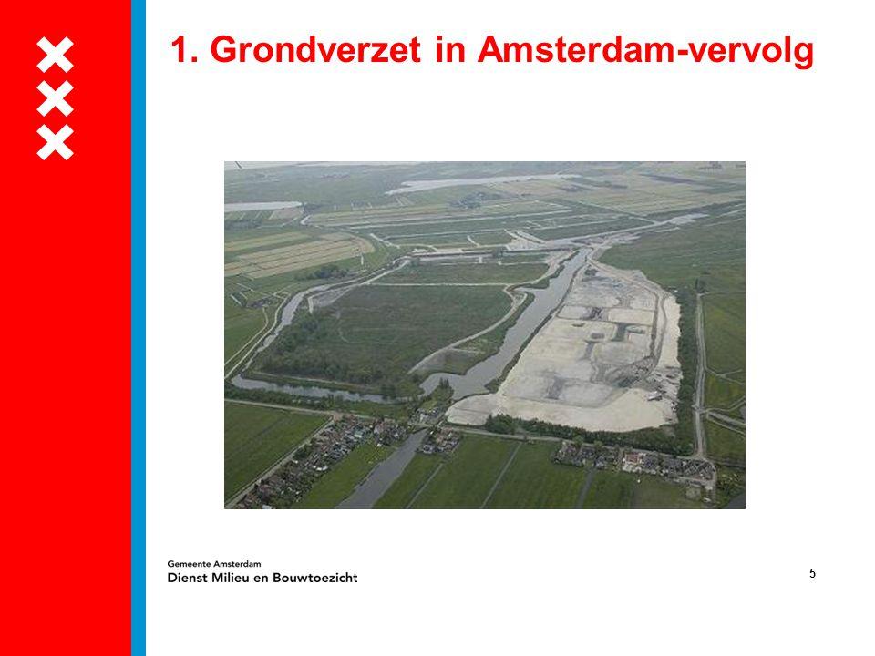 5 1. Grondverzet in Amsterdam-vervolg