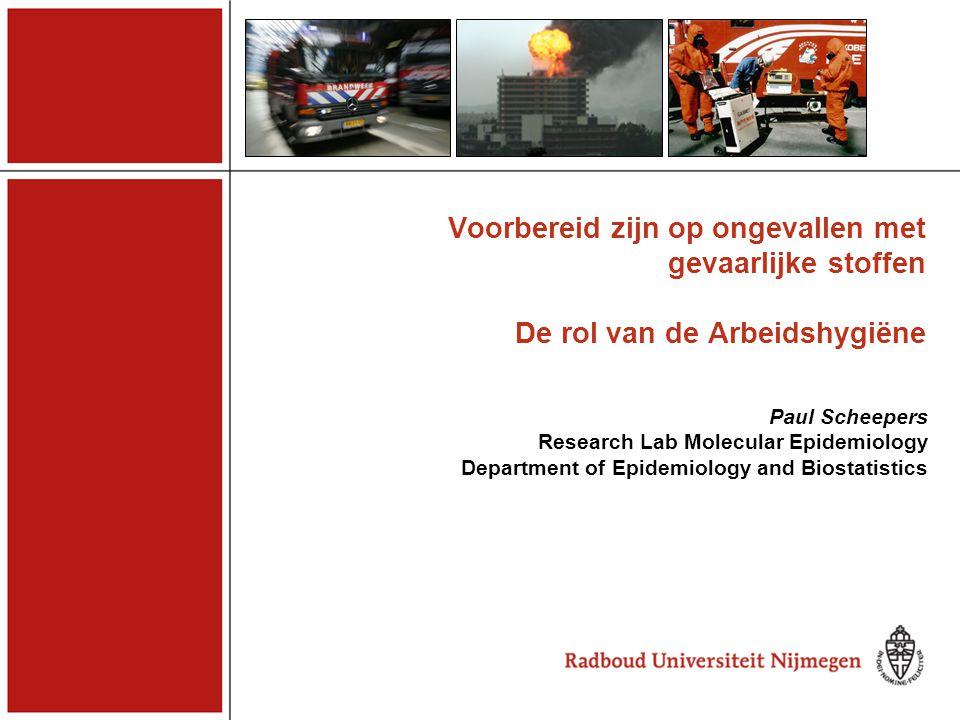 De mogelijke rol van andere factoren Incidenten met gevaarlijke stoffen CGC / NVvA 15 november 2007 Als de rol van drijfgassen onwaarschijnlijk is, wat dan wel.